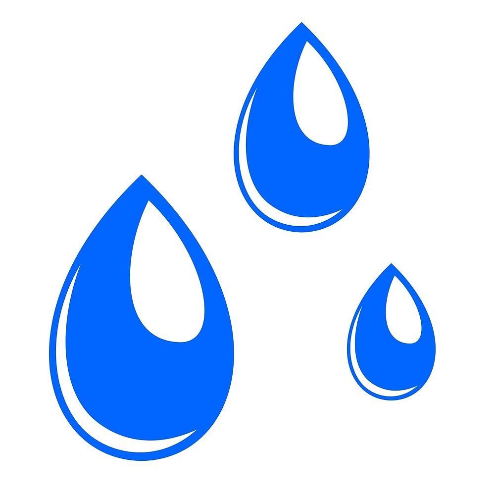 Simple Water Drops by EnergyCat