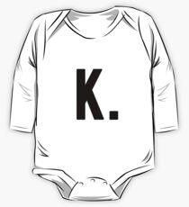Body de manga larga para bebé El Todopoderoso K Dot
