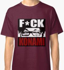 Hideo Kojima Konami Classic T-Shirt