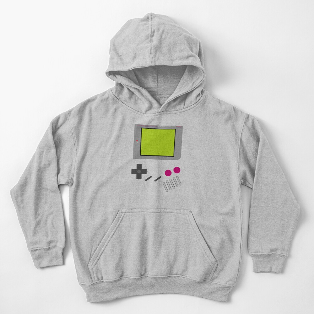 Gameboy Nintendo Sudadera con capucha para niños