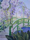 Monets Bridge by Val Spayne