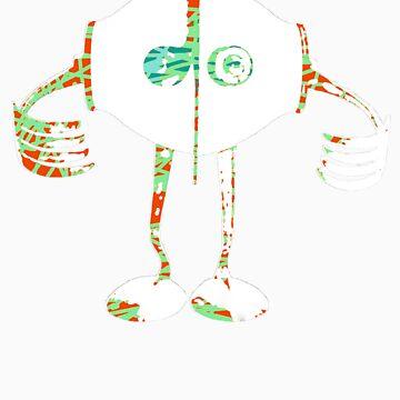 Boon - Multicolor - Robot by adoptabot