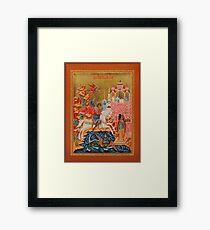 The Miracle of St George Framed Print