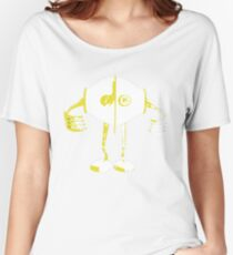 Boon Yellow Robot Women's Relaxed Fit T-Shirt