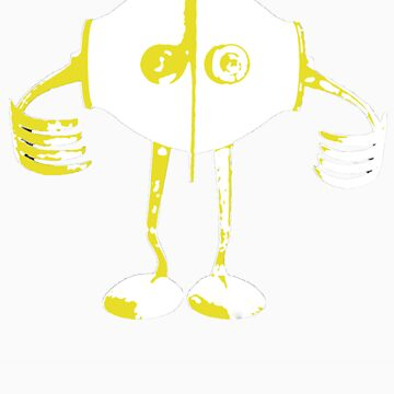 Boon Yellow Robot by adoptabot