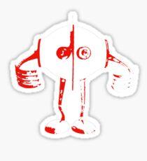 Boon - Red - Robot Sticker