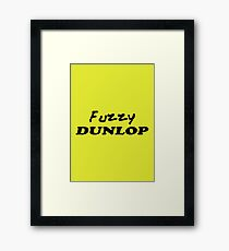 The Wire - Fuzzy Dunlop Framed Print