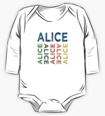 Alice Cute Colorful One Piece - Long Sleeve