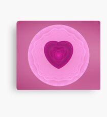 Mandala Heart Canvas Print