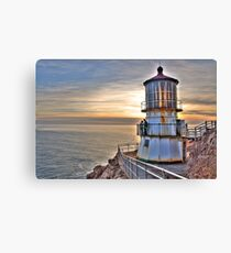 Point Reyes Lighthouse at Sunset Canvas Print