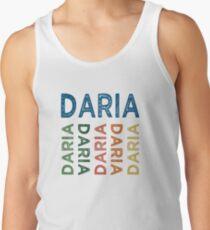Daria Cute Colorful Men's Tank Top