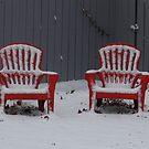 My Neighbors Chairs by WildestArt
