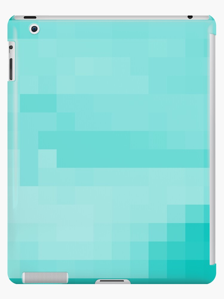 'Minecraft Diamond Block' iPad Case/Skin by Joshua Alegria