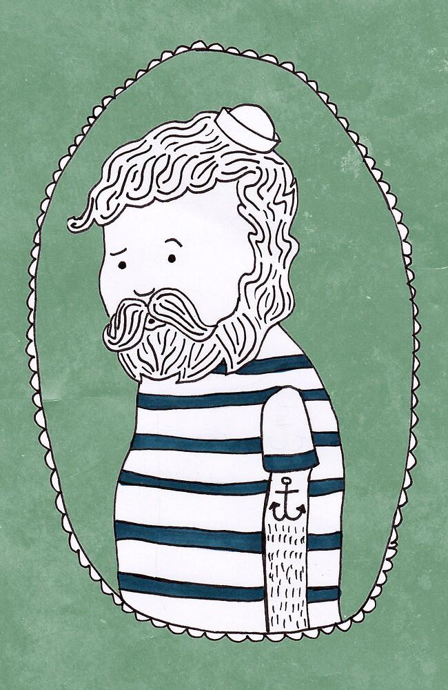 sad little sailor by Tess Smith-Roberts