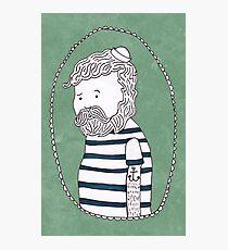 sad little sailor Photographic Print