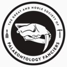 The Society of Palaeontology Fanciers (Black on Light) by David Orr