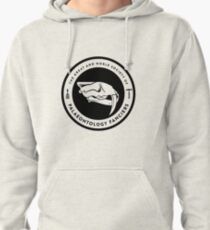 The Society of Palaeontology Fanciers (Black on Light) Pullover Hoodie