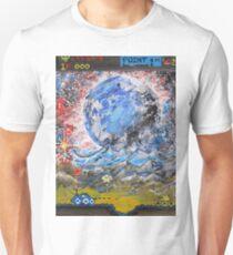 moon, retro, arcade, game T-Shirt