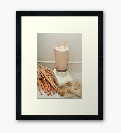 """Bad Bambi Series, #26 """"Take One Down, and Pass It Around"""" Framed Print"""