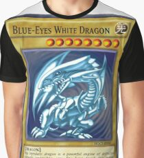 Blue Eyes White Dragon Graphic T-Shirt