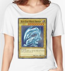 Blue Eyes White Dragon Women's Relaxed Fit T-Shirt