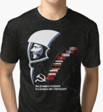Soviet Space Tee Tri-blend T-Shirt