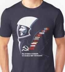 Soviet Space Tee Slim Fit T-Shirt