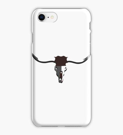 Longhorn Skull VRS2 iPhone Case/Skin