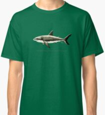 """Carcharodon carcharias II"" ~ great white shark by Amber Marine Classic T-Shirt"