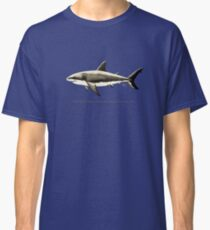 """""""Carcharodon carcharias II"""" ~ great white shark by Amber Marine Classic T-Shirt"""