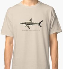 Carcharodon carcharias by Amber Marine, great white shark illustration, art © 2015 Classic T-Shirt