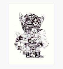 El Gato Bandito Art Print