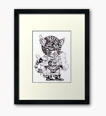 El Gato Bandito Framed Print