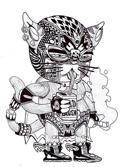 El Gato Bandito by ian mercado