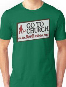 Go to Church Sign in Alabama T-Shirt