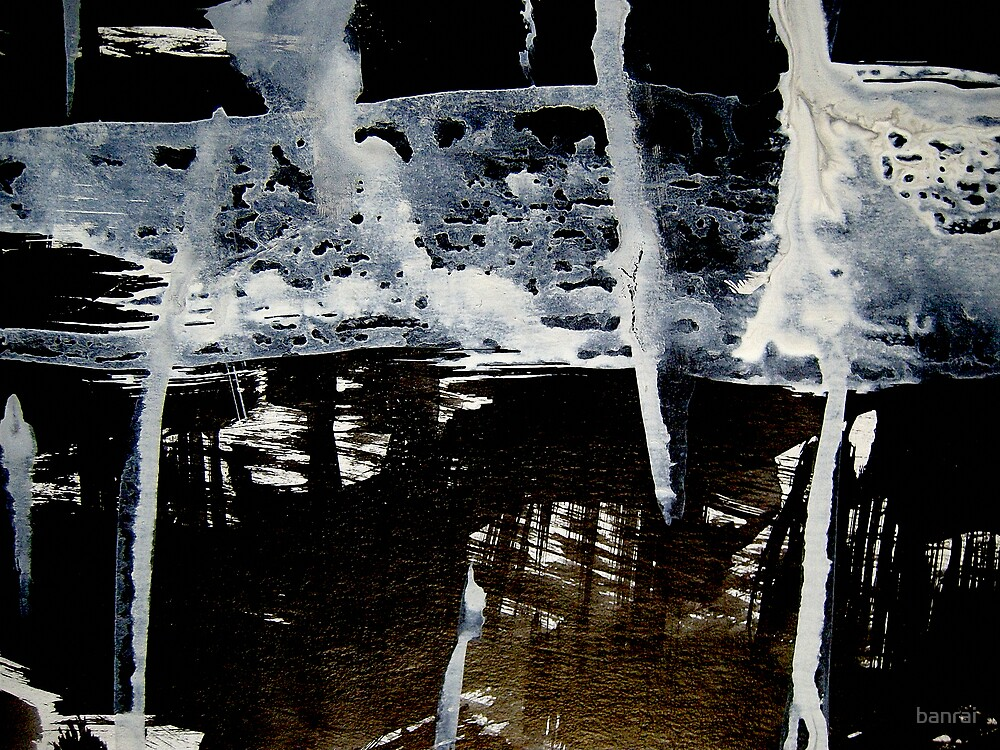 veils on pond...opaque spirits by banrai