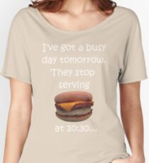 Busy Day Tomorrow Women's Relaxed Fit T-Shirt