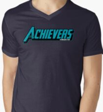 Over Achievers Men's V-Neck T-Shirt