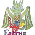 """""""Earth Dragon"""" by caraemoore"""