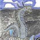 Water Dragon by caraemoore