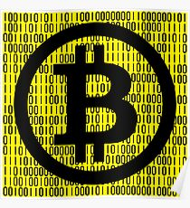 BITCOIN is HERE! Poster