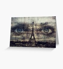 see you in Paris Greeting Card