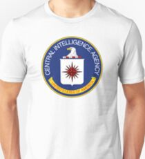 CIA Central Intelligence Agency Logo T-Shirt Unisex T-Shirt