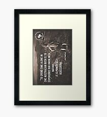 It's Powerfully Reassuring Vertical Framed Print