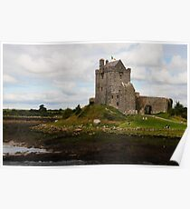 Dunguaire Castle Kinvara County Clare Ireland Poster
