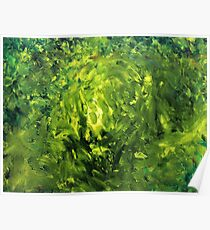 August (Moden art, oil painting for posters and prints) Poster