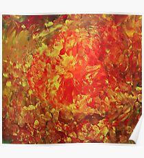 October (Moden art, oil painting for posters and prints) Poster