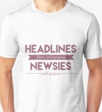 Headlines Unisex T-Shirt