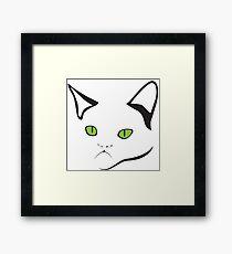 Grumpy Cat Is Grumpy Framed Print