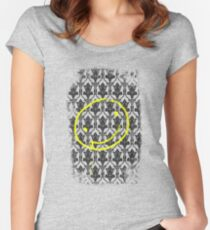 SMILE ♥ Women's Fitted Scoop T-Shirt